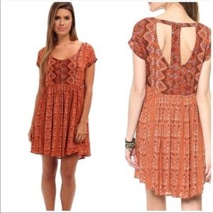 Free People | Sundown Tribal Print Dress